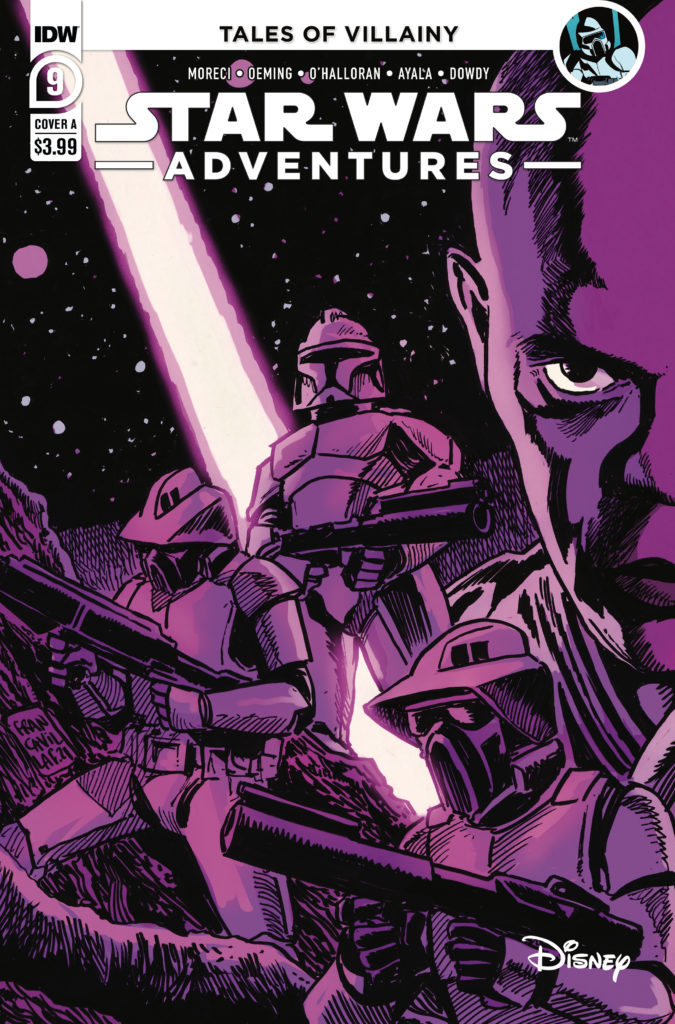 Star Wars Adventures #9 (Cover A by Francesco Francavilla) (08.09.2021)