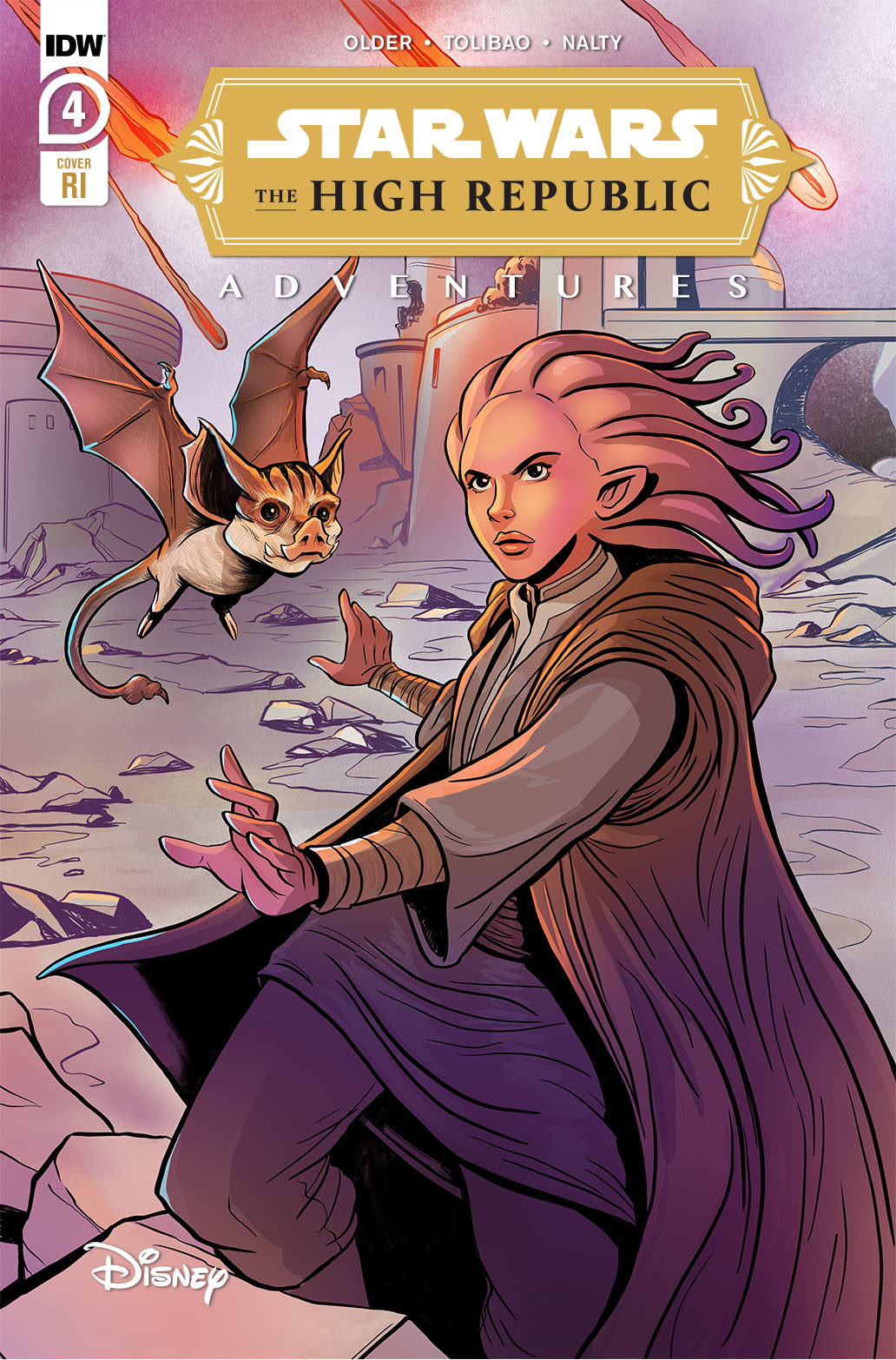 The High Republic Adventures #4 (Yael Nathan Variant Cover) (Mai 2021)