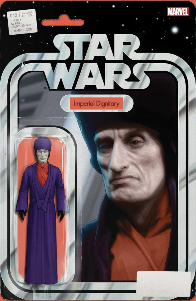 """Star Wars #13 (""""Imperial Dignitary"""" Action Figure Variant Cover) (12.05.2021)"""