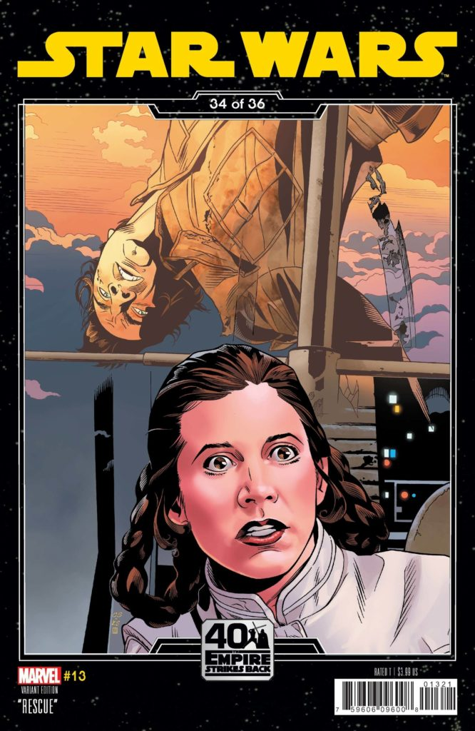 Star Wars #13 (Chris Sprouse The Empire Strikes Back Variant Cover 34 of 36) (12.05.2021)