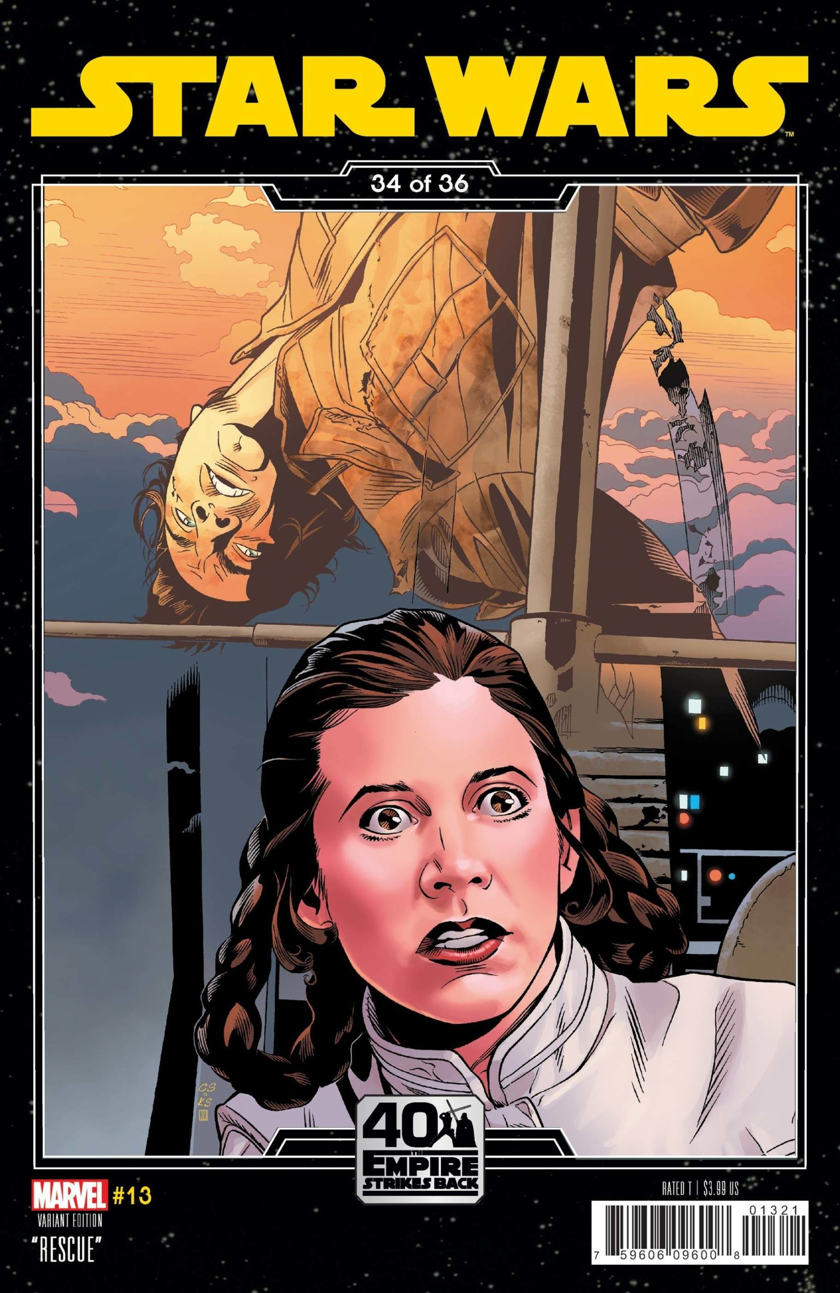 Star Wars #13 (Chris Sprouse The Empire Strikes Back Variant Cover) (12.05.2021)