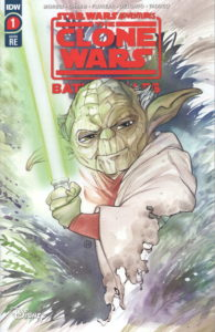 The Clone Wars - Battle Tales #1 (Peach Momoko Frankie's Comics Trade Dress Variant Cover) (März 2021)