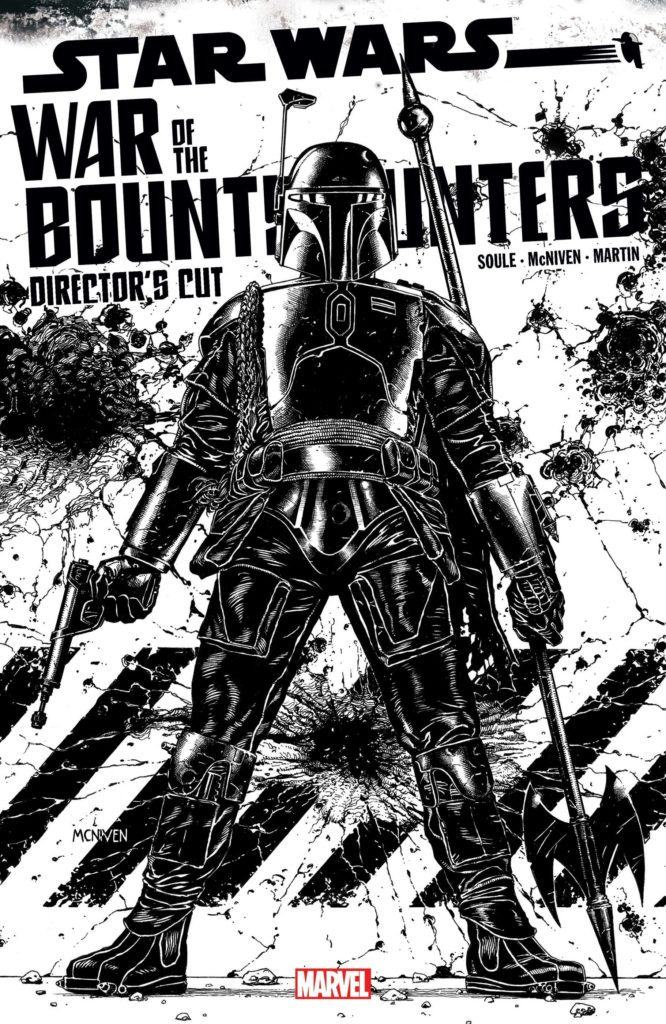 War of the Bounty Hunters Alpha - Director's Cut #1 (Steve McNiven Sketch Variant Cover) (05.05.2021)