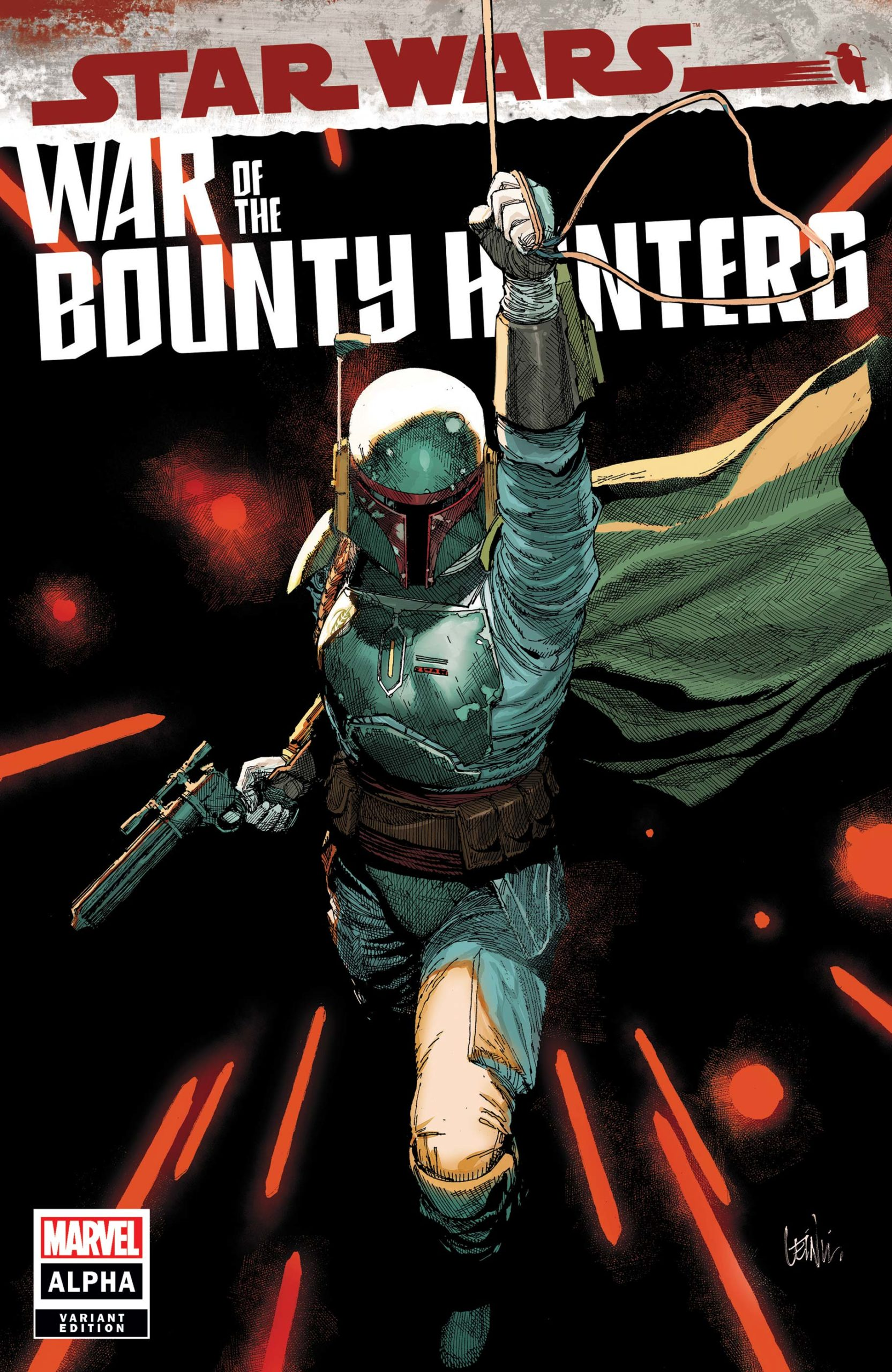 War of the Bounty Hunters Alpha #1 (Leinil Francis Yu Variant Cover)