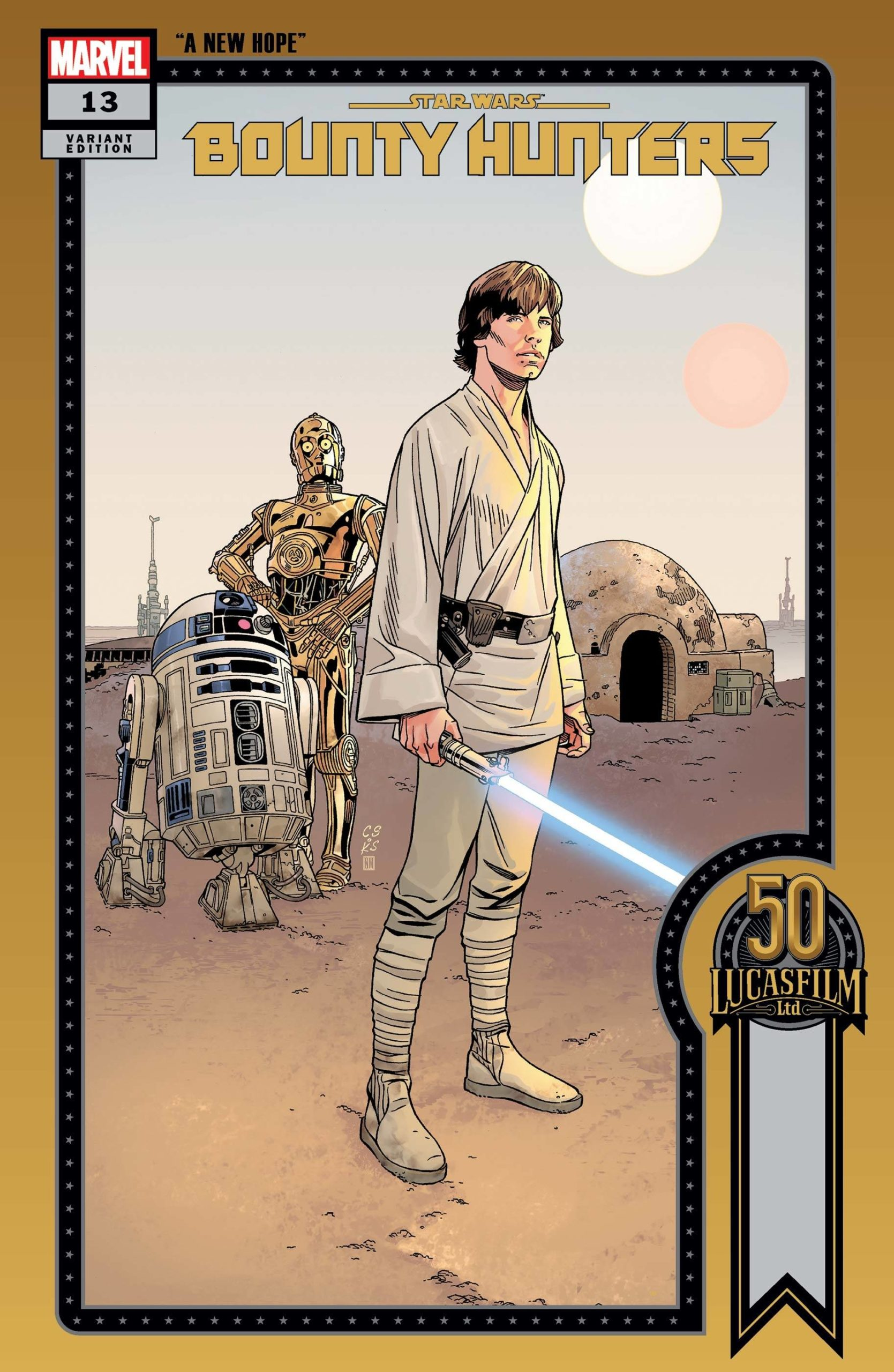 Bounty Hunters #13 (Chris Sprouse Lucasfilm 50th Anniversary Variant Cover 1 of 36) (09.06.2021)