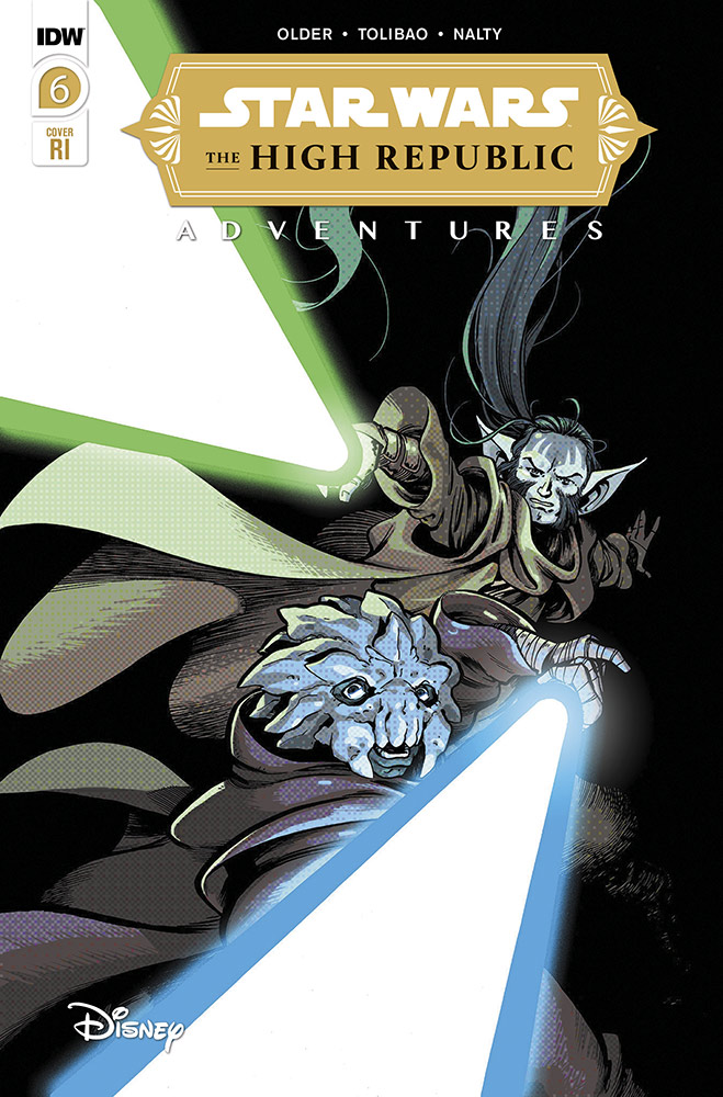 The High Republic Adventures #6 (Ilias Kyriazis Variant Cover) (Juli 2021)