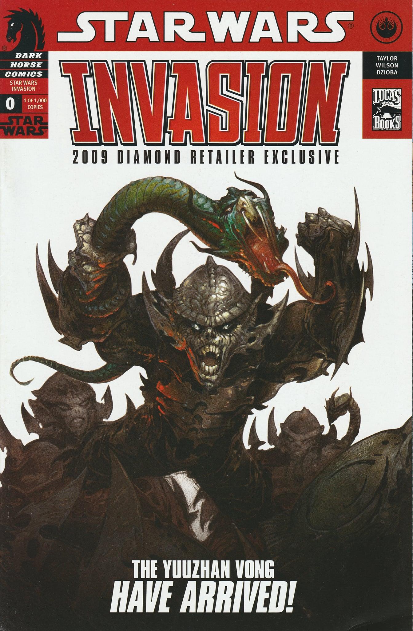 Invasion #0 (2009 Diamond Retailer Exclusive Variant Cover) (2009)