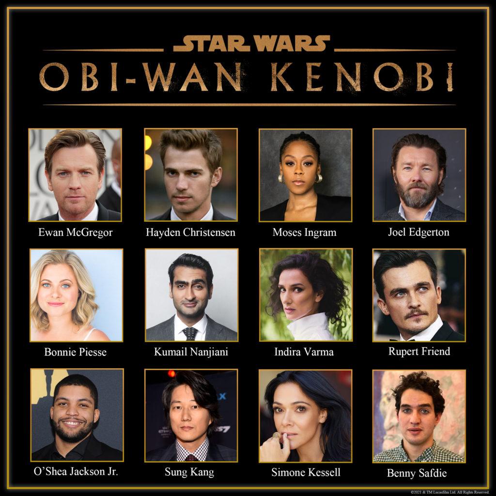 Kenobi-Serie Cast