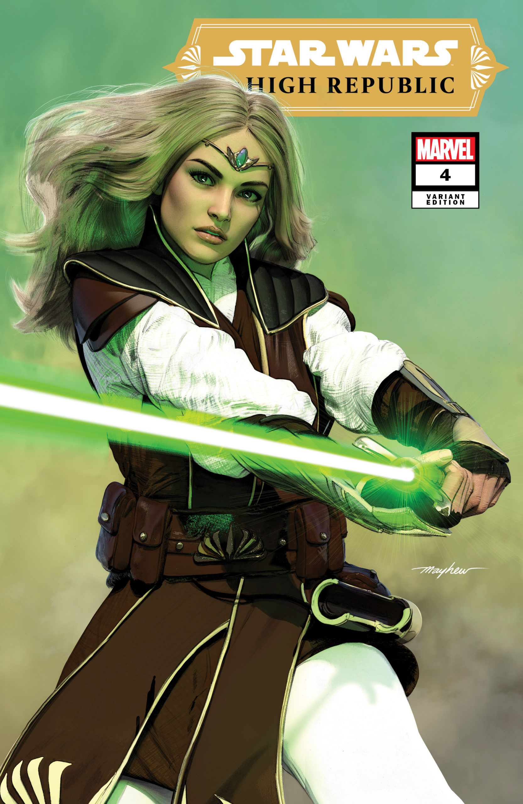 The High Republic #4 (Mike Mayhew Variant Cover) (07.04.2021)