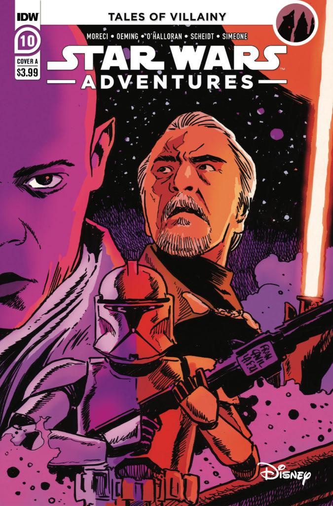 Star Wars Adventures #10 (Cover A by Francesco Francavilla) (29.09.2021)