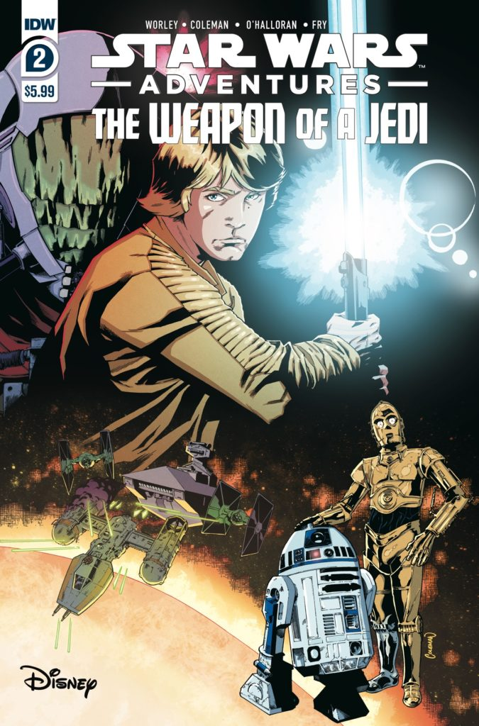 Star Wars Adventures: The Weapon of a Jedi #2 (30.06.2021)