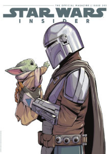 Star Wars Insider #203 (Comic Store Cover) (22.06.2021)