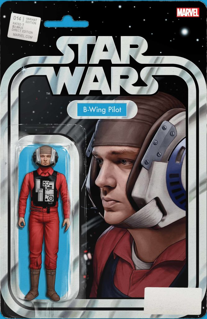 """Star Wars #14 (""""B-Wing Pilot"""" Action Figure Variant Cover) (16.06.2021)"""