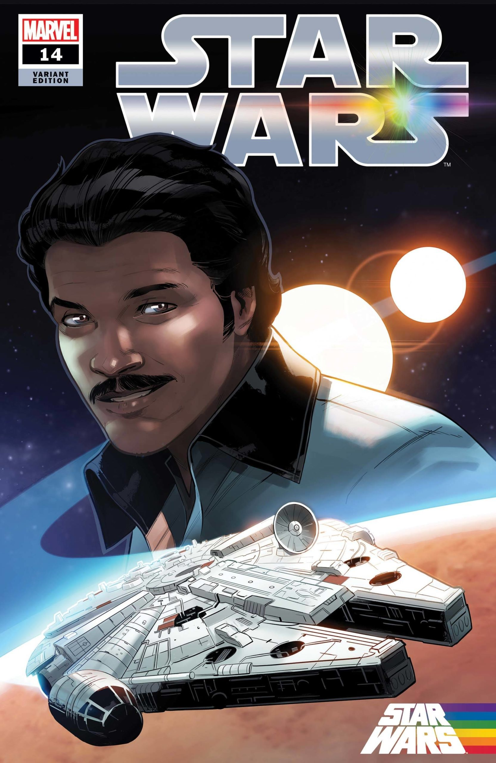 "Star Wars #14 (Stephen Byrne ""Lando Calrissian"" Pride Variant Cover) (16.06.2021)"