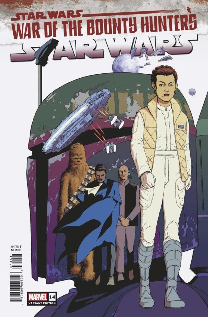 Star Wars #14 (Javier Rodriguez Variant Cover) (16.06.2021)