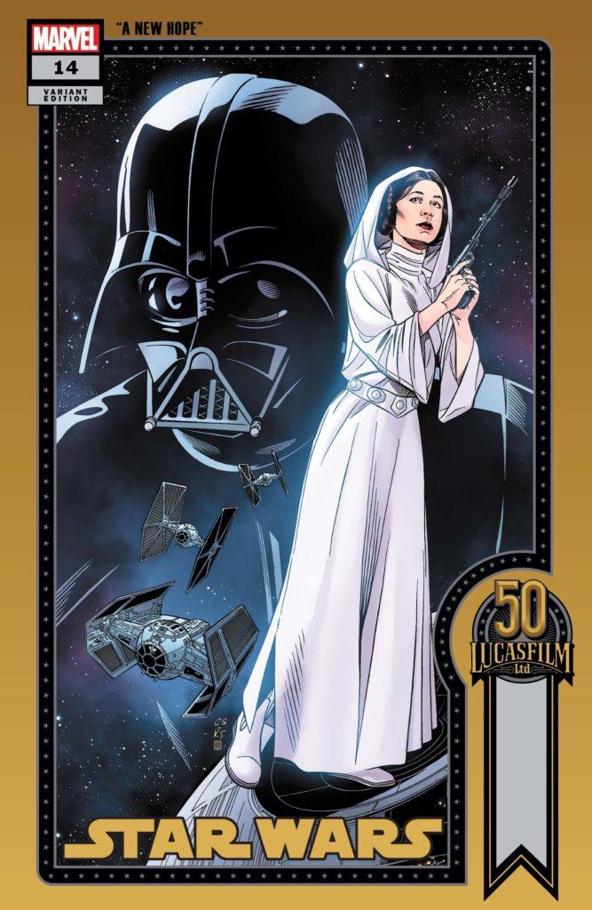 Star Wars #14 (Chris Sprouse Lucasfilm 50th Anniversary Variant Cover) (16.06.2021)