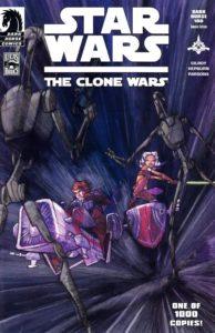 The Clone Wars #1 (Dave Filoni Dark Horse 100 Variant Cover) (10.09.2008)