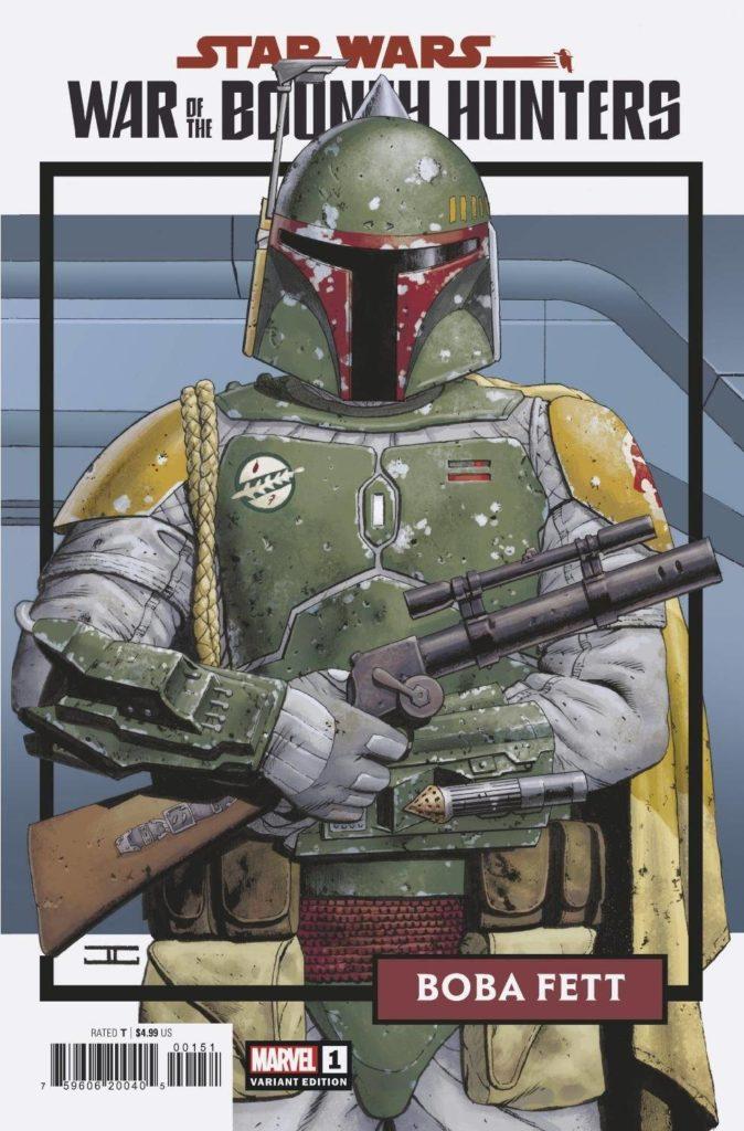 War of the Bounty Hunters #1 (John Cassaday Trading Card Variant Cover) (02.06.2021)