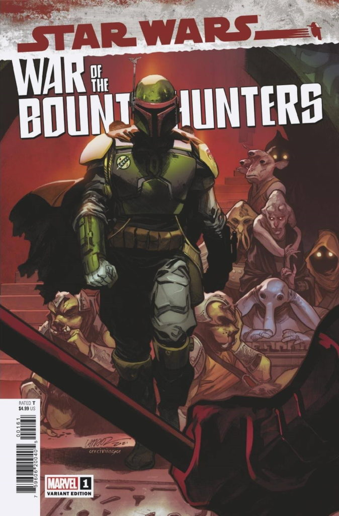 War of the Bounty Hunters #1 (Pepe Larraz Variant Cover) (02.06.2021)