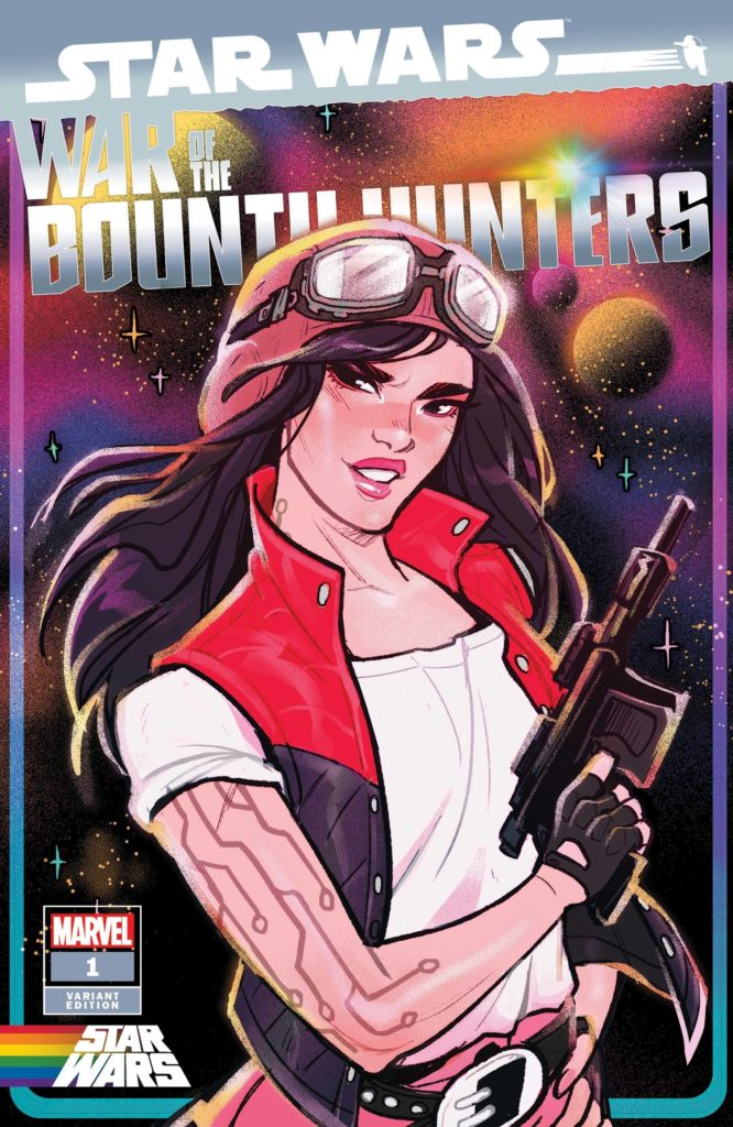 """War of the Bounty Hunters #1 (Babs Tarr """"Doctor Aphra"""" Pride Variant Cover) (02.06.2021)"""