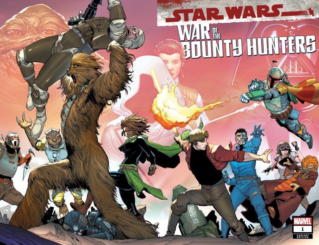 War of the Bounty Hunters #1 (Giuseppe Camuncoli Wraparound Variant Cover) (02.06.2021)