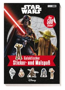 Star Wars: Galaktischer Sticker- und Malspaß