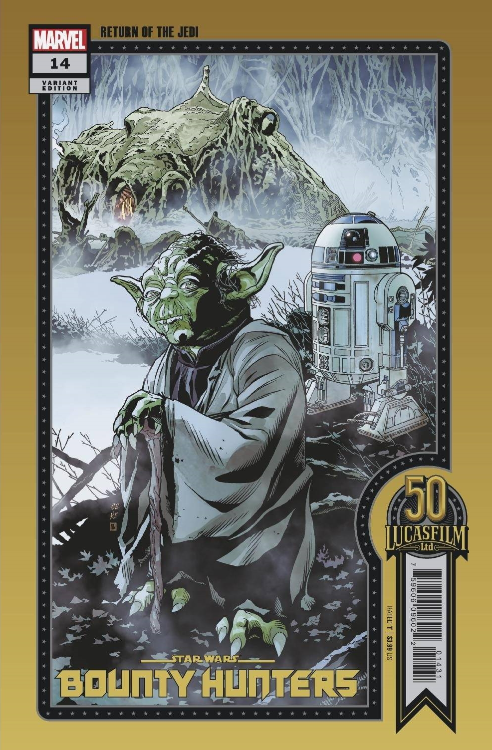 Bounty Hunters #14 (Chris Sprouse Lucasfilm 50th Anniversary Variant Cover) (07.07.2021)