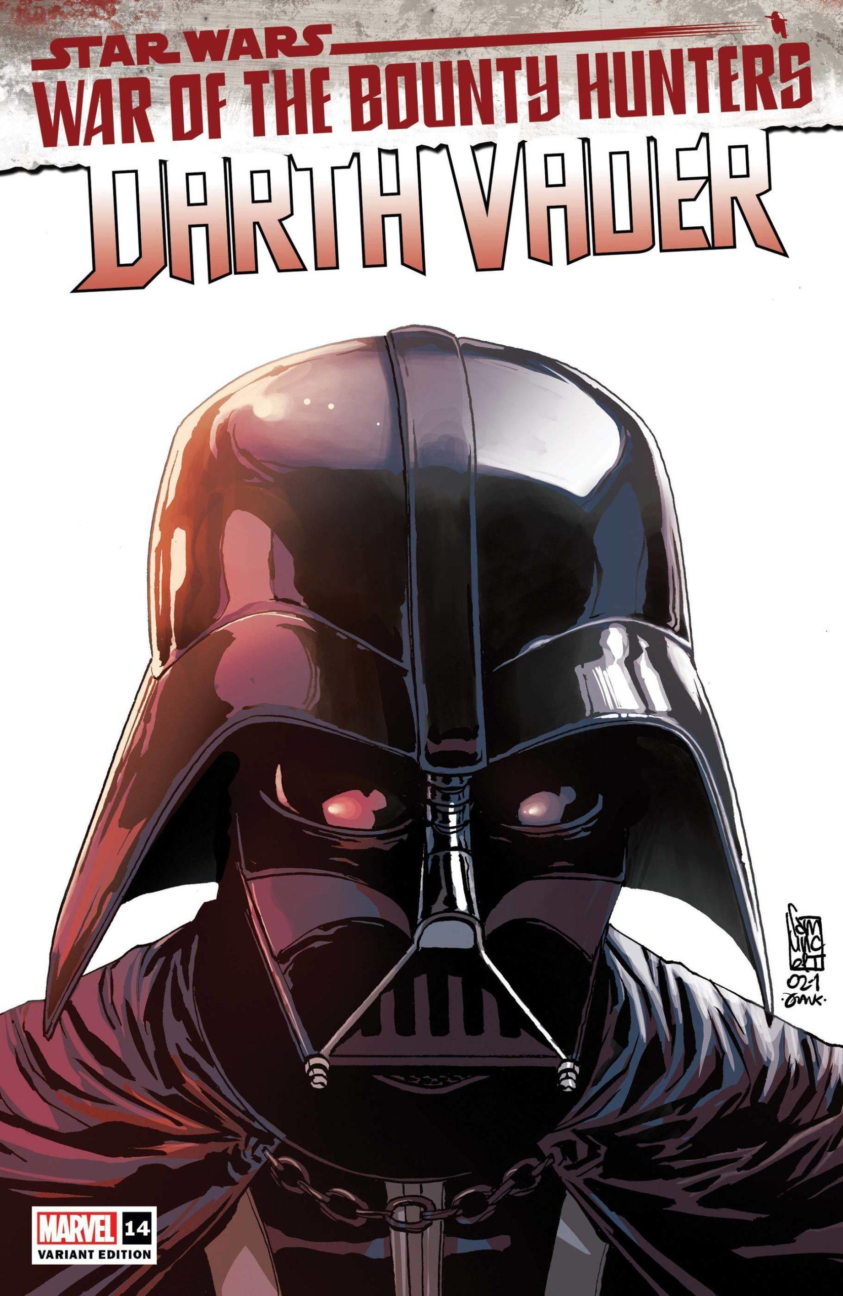 Darth Vader #14 (Giuseppe Camuncoli Variant Cover) (14.07.2021)