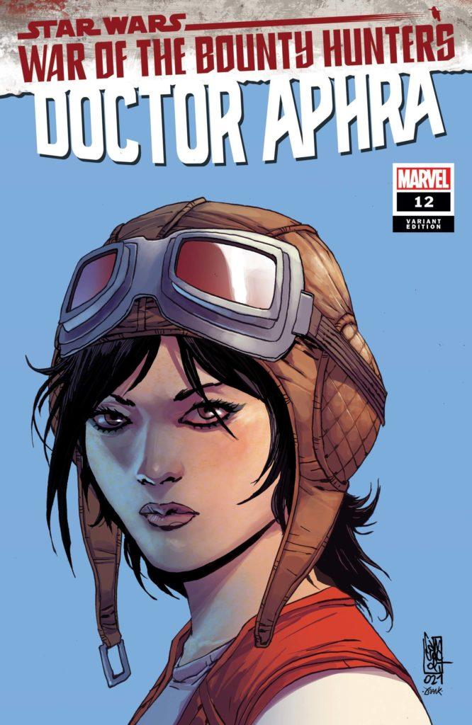 Doctor Aphra #12 (Giuseppe Camuncoli Headshot Variant Cover) (14.07.2021)