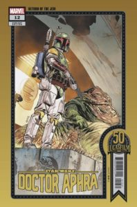 Doctor Aphra #12 (Chris Sprouse Lucasfilm 50th Anniversary Variant Cover) (14.07.2021)