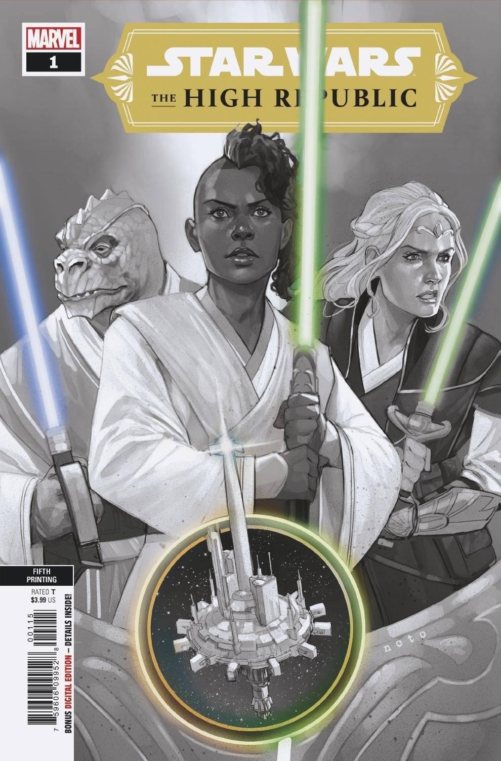 The High Republic #1 (5th Printing) (19.05.2021)