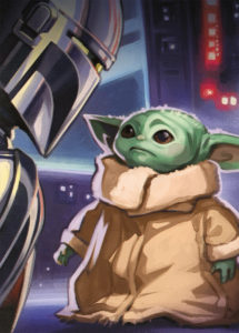 Star Wars Insider #202 (Grogu Virgin Cover) (27.04.2021)