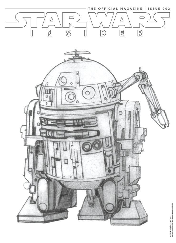 Star Wars Insider #202 (Subscriber Cover) (27.04.2021)