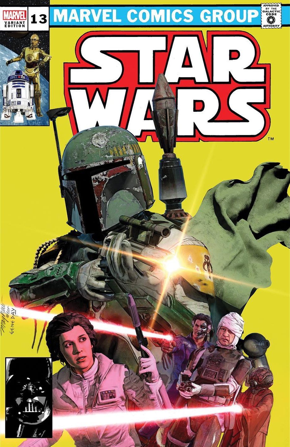 Star Wars #13 (Mike Mayhew Studio Variant Cover) (12.05.2021)