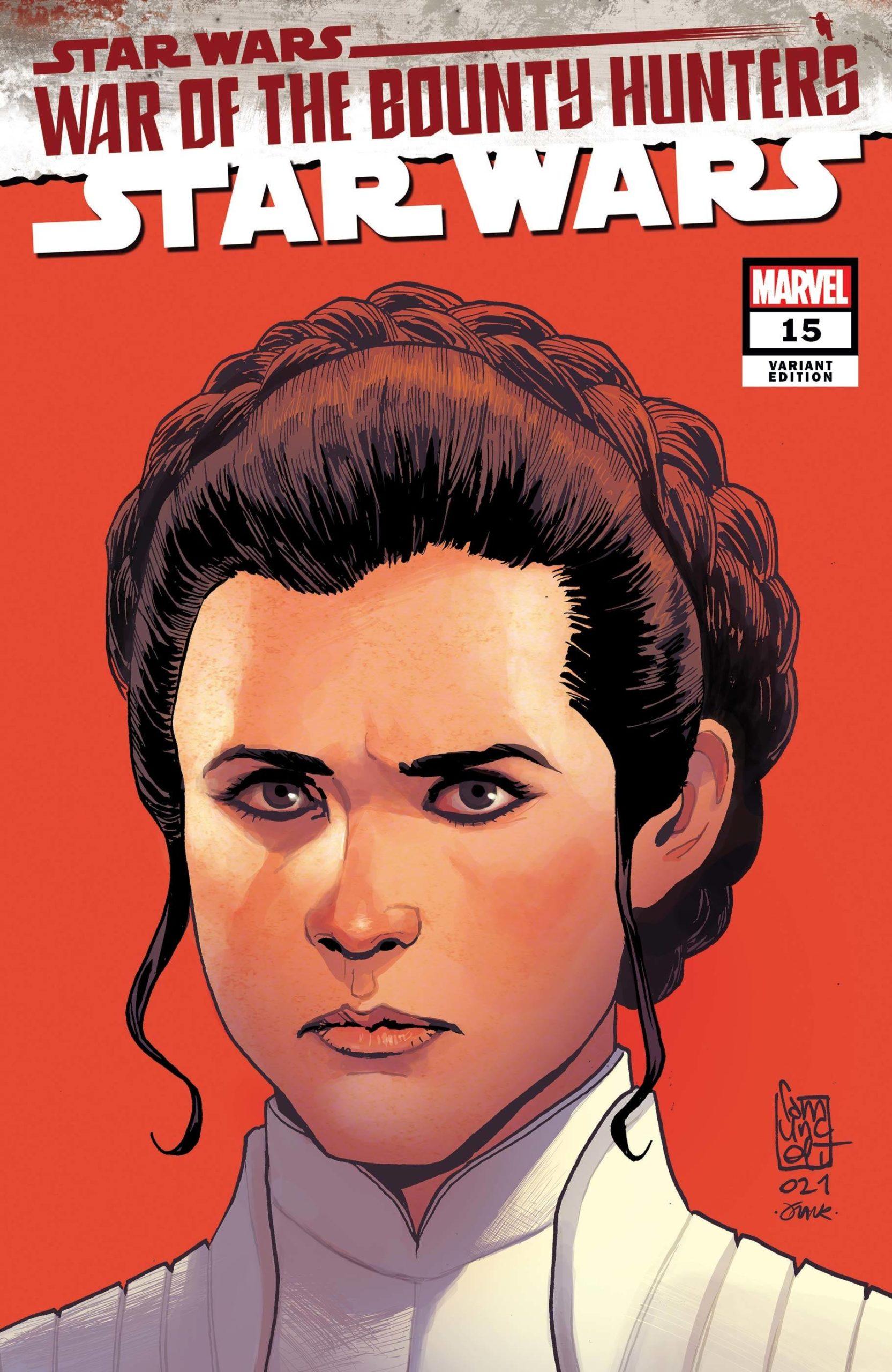 Star Wars #15 (Giuseppe Camuncoli Variant Cover) (28.07.2021)