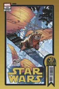 """Star Wars #15 (Chris Sprouse """"Ewoks"""" Lucasfilm 50th Anniversary Variant Cover) (28.07.2021)"""