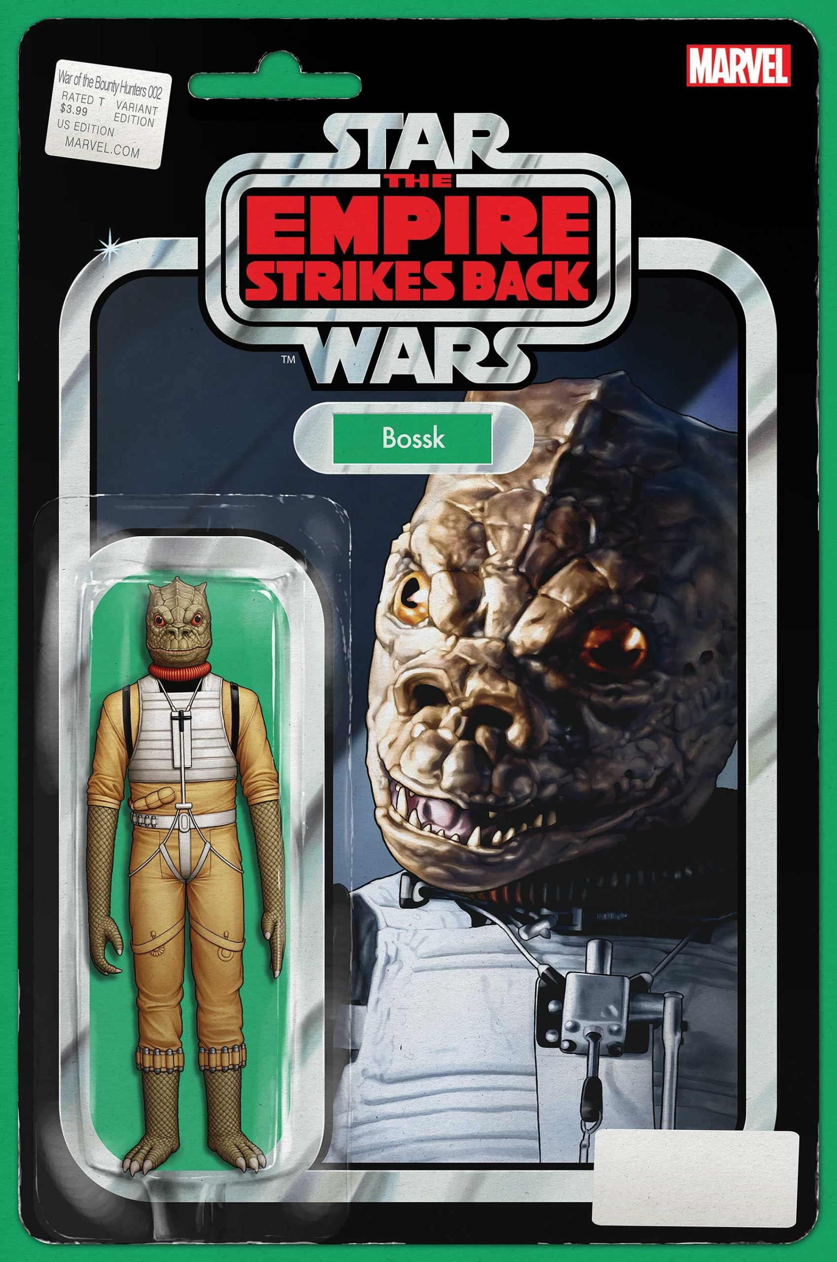 War of the Bounty Hunters #2 (Action Figure Variant Cover) (14.07.2021)