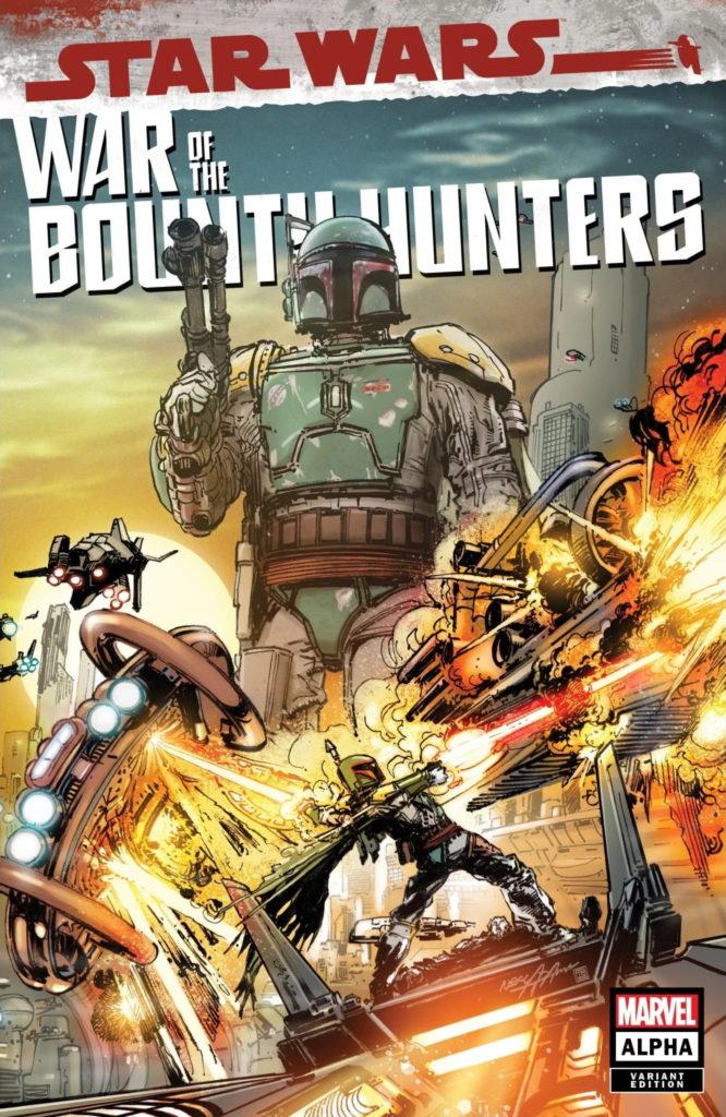 War of the Bounty Hunters Alpha #1 (Neal Adams EliteComics11 Variant Cover) (05.05.2021)