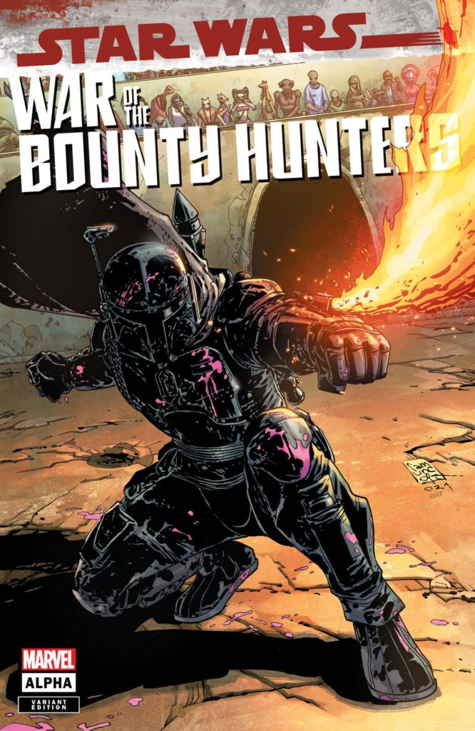 War of the Bounty Hunters Alpha #1 (Giuseppe Camuncoli Variant Cover) (05.05.2021)