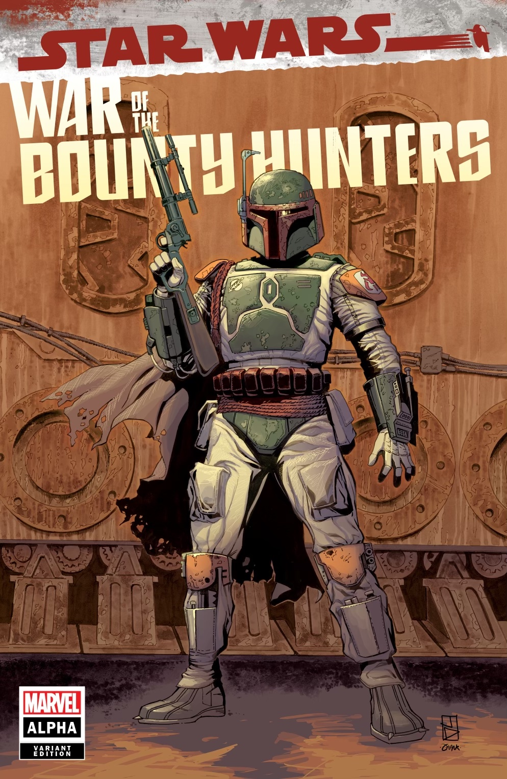 War of the Bounty Hunters Alpha #1 (Jan Duursema Kowabunga Comics Variant Cover) (05.05.2021)