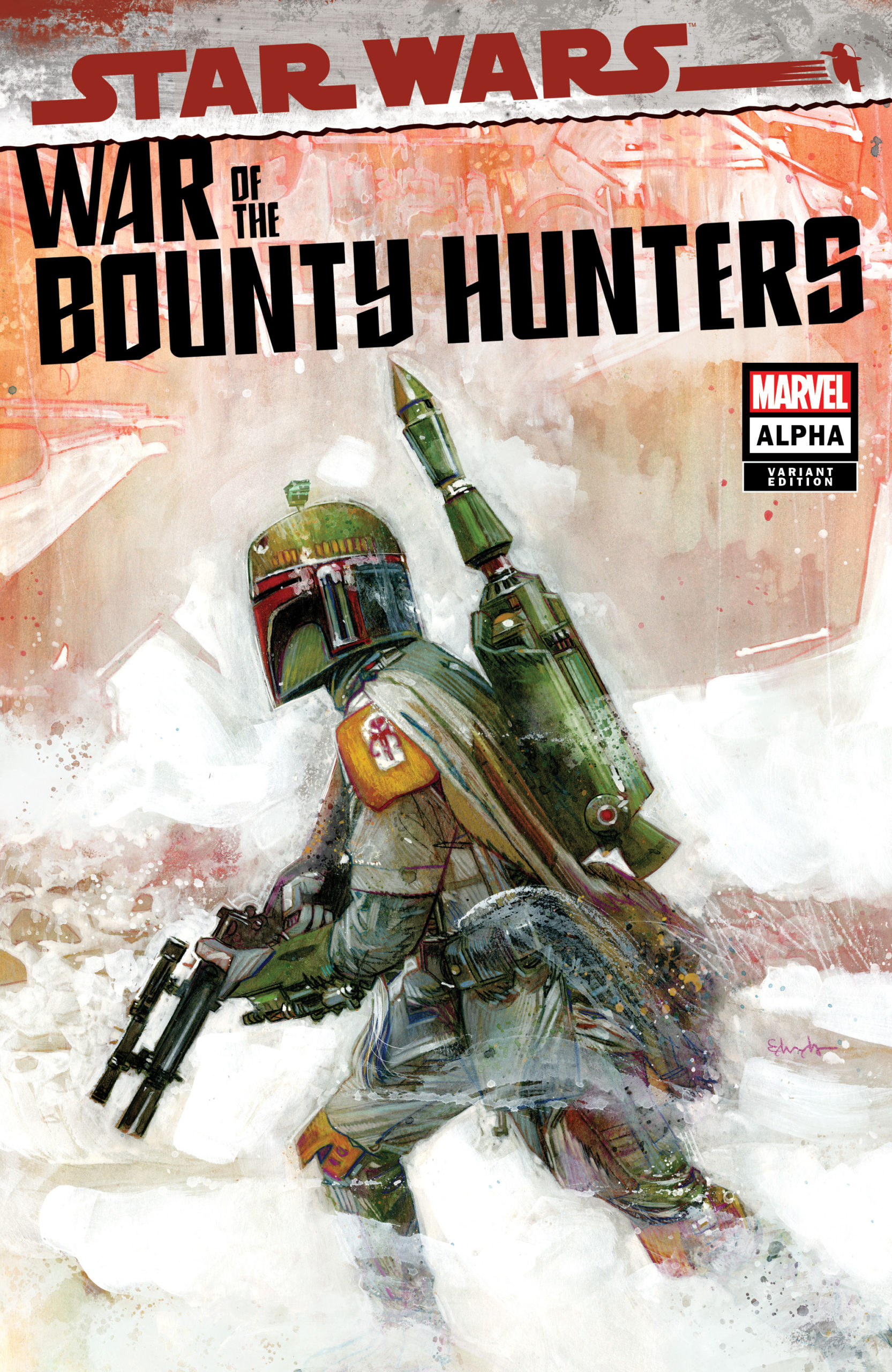 War of the Bounty Hunters Alpha #1 (Tommy Lee Edwards Ultimate Comics Variant Cover) (05.05.2021)