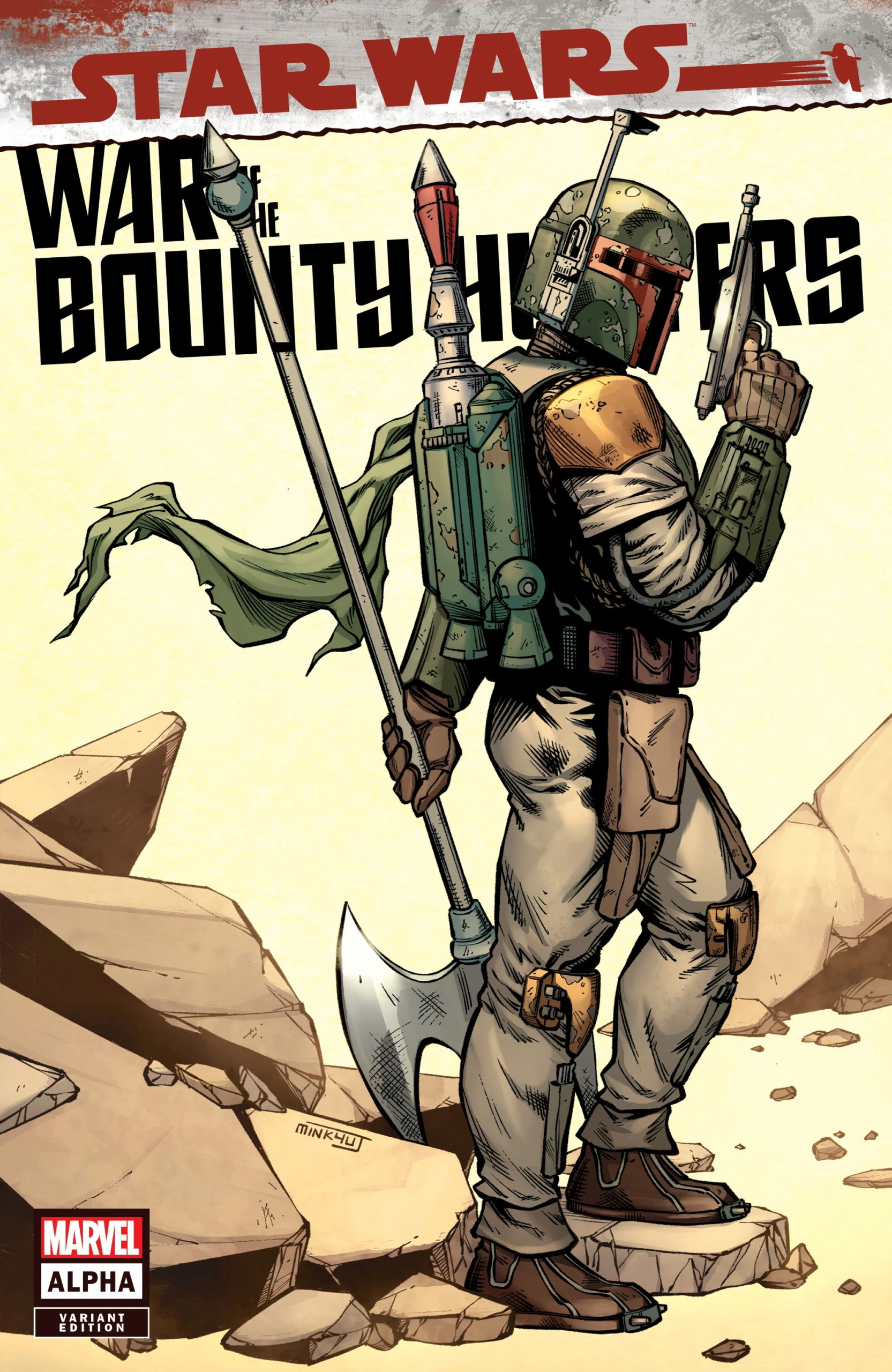War of the Bounty Hunters Alpha #1 (Minkyu Jung Variant Cover) (05.05.2021)