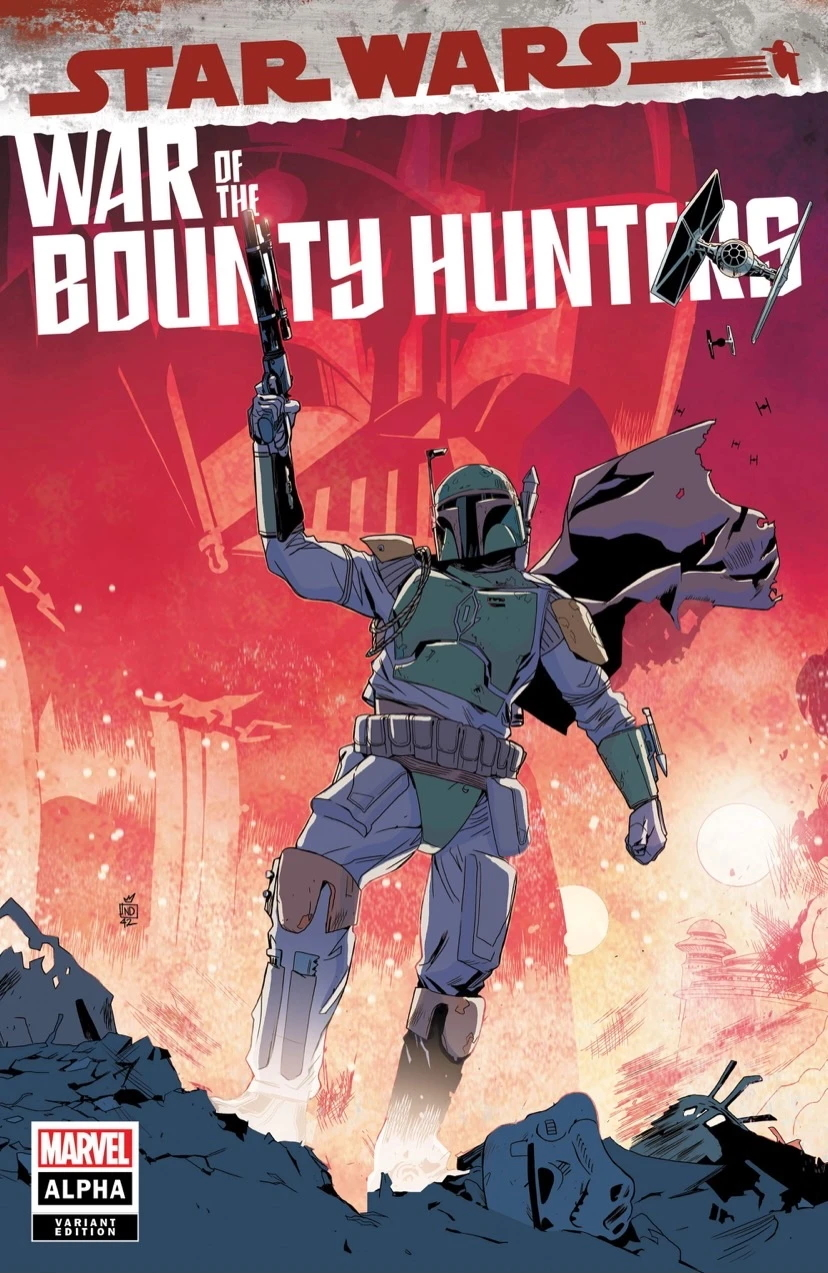 War of the Bounty Hunters Alpha #1 (Stefano Landini The Comic Book Dealer Variant Cover) (05.05.2021)