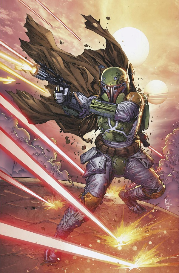 War of the Bounty Hunters Alpha #1 (Ken Lashley Gotham Central Comics Virgin Variant Cover) (05.05.2021)