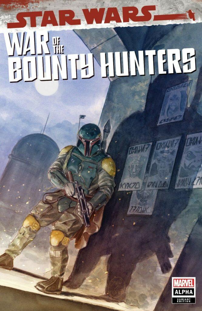 War of the Bounty Hunters Alpha #1 (David Lopez Mega Gaming and Comics Variant Cover) (05.05.2021)