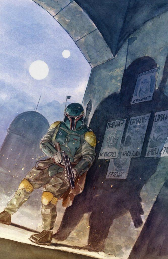 War of the Bounty Hunters Alpha #1 (David Lopez Mega Gaming and Comics Virgin Variant Cover) (05.05.2021)