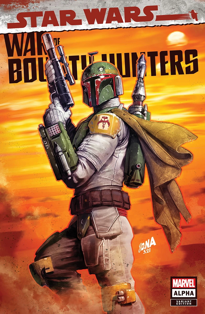 War of the Bounty Hunters Alpha #1 (David Nakayama Variant Cover) (05.05.2021)
