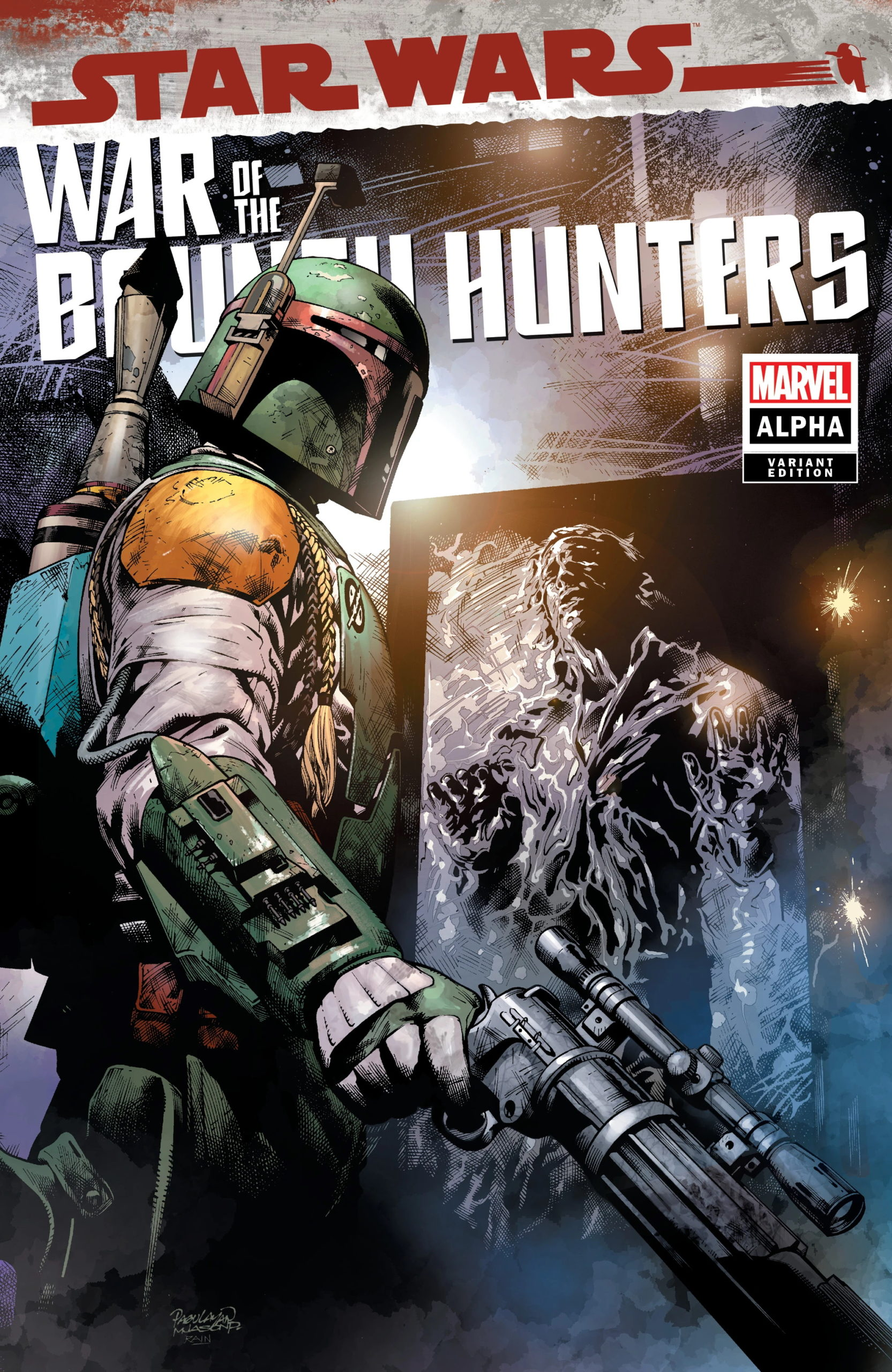 War of the Bounty Hunters Alpha #1 (Carlo Pagulayan Devil Dog Comics Variant Cover) (05.05.2021)