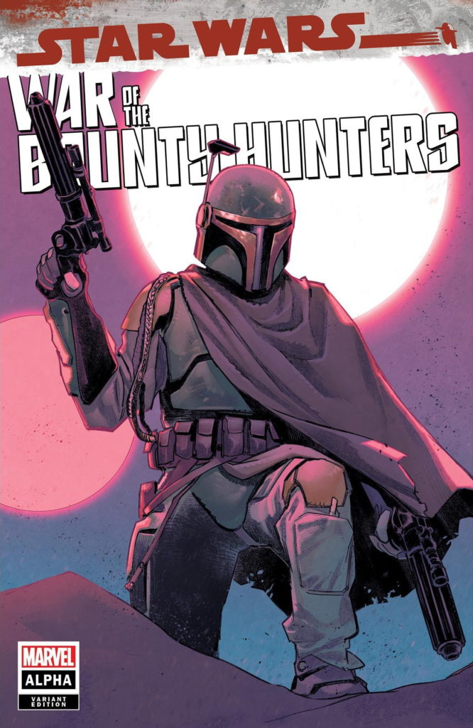 War of the Bounty Hunters Alpha #1 (Sara Pichelli Scorpion Comics Variant Cover) (05.05.2021)