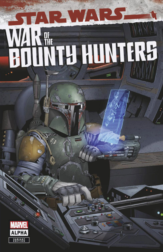 War of the Bounty Hunters Alpha #1 (Will Sliney Jetpack Comics Variant Cover) (05.05.2021)